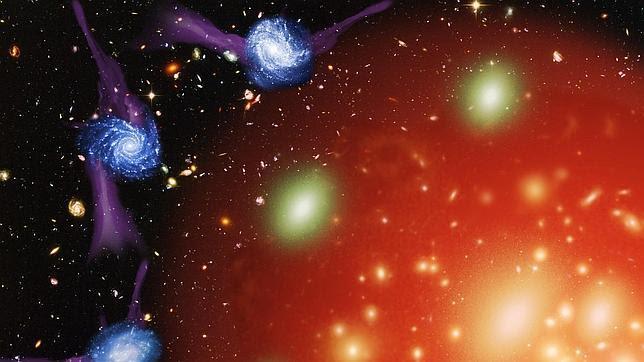 ¿Y si las galaxias murieran por estrangulación?