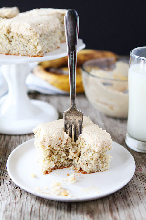 Banana Cake Recipe Two Peas in their Pod on We Heart It.