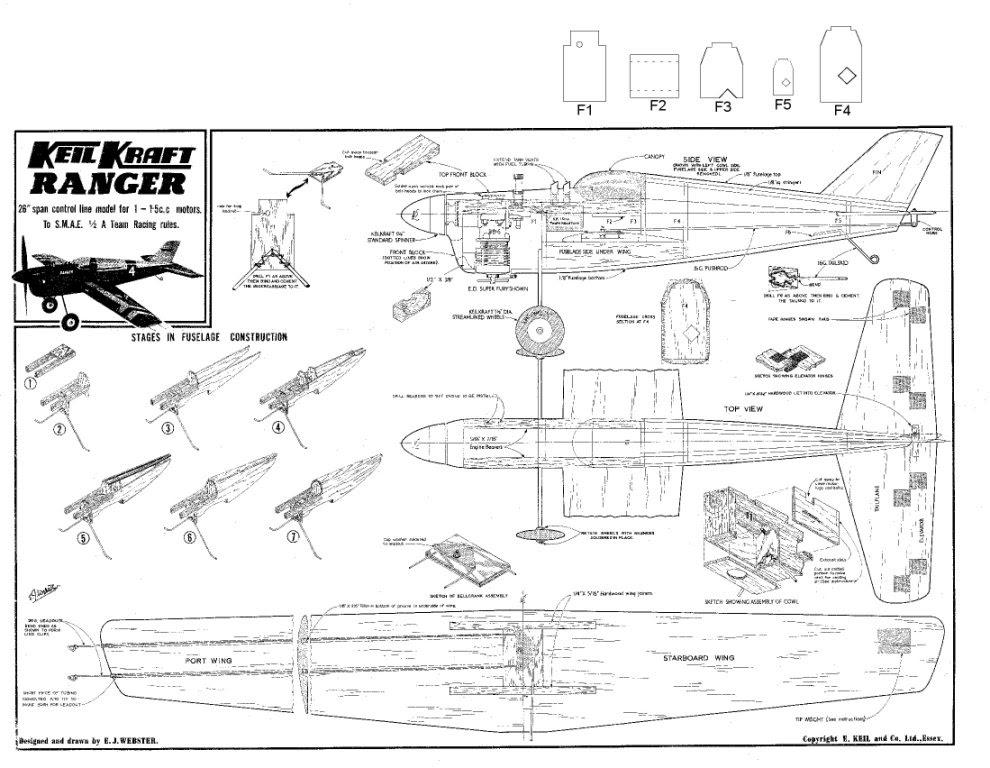 Keil kraft model boat plans Details ~ Sailing Build plan