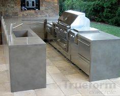 Concrete furniture on Pinterest