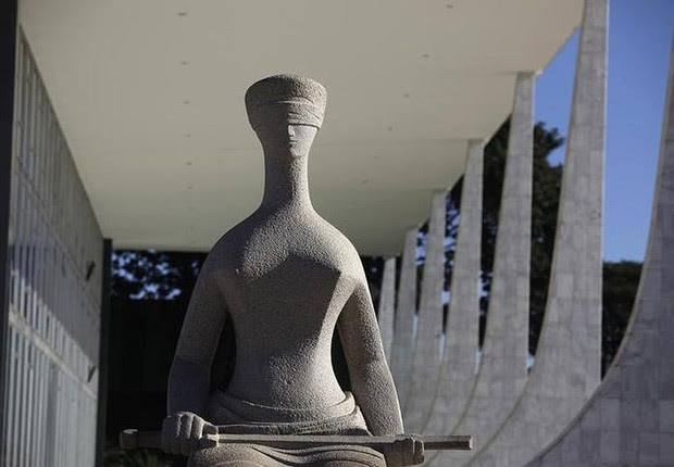 Prédio do Supremo Tribunal Federal (STF), em Brasília (Foto: Ricardo Moraes/Reuters)