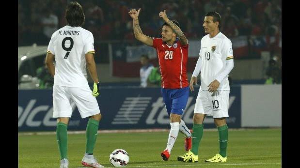 Festín del local: Chile goleó 5-0 a Bolivia y lideró grupo A