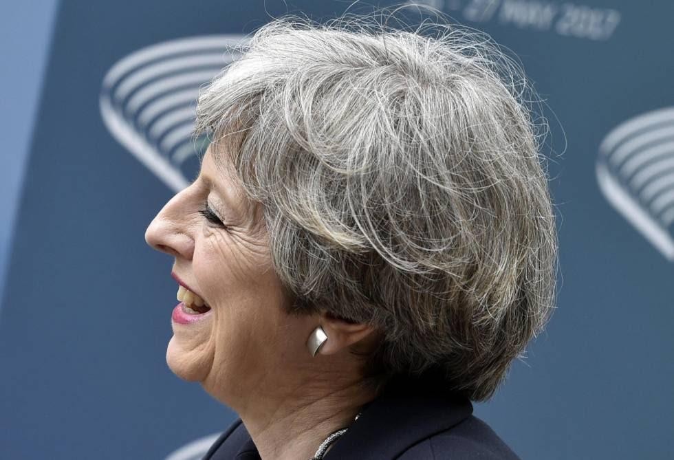 Theresa May, la primera ministra del Reino Unido.