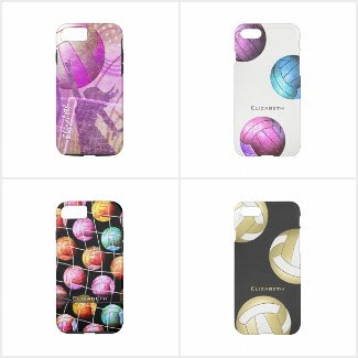 Volleyball Device Cases for women & girls