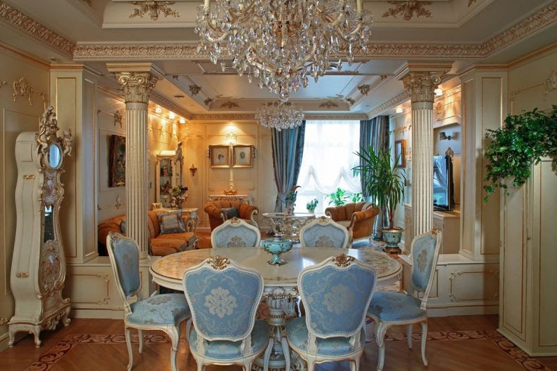 Modern Baroque Interior Design - French Baroque Interior