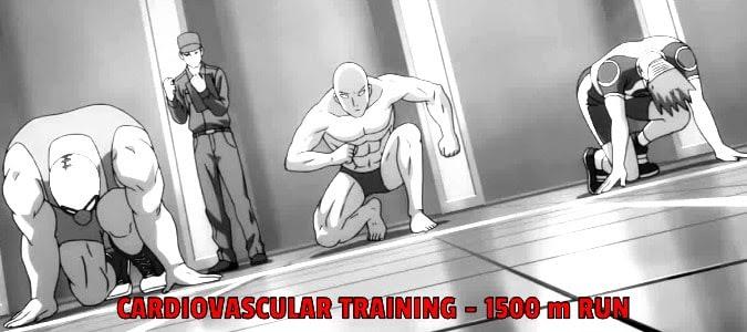 One Punch Man Training - Anime