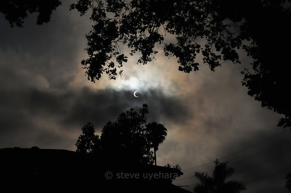 The partial solar eclipse of 2012