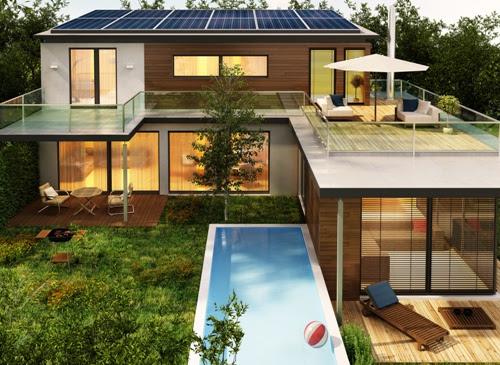 4 Contoh Desain Rumah Mewah Idaman Dengan Kolam Renang Rumahminimalis Com