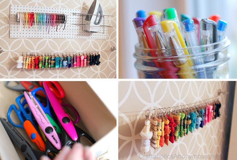 Craftaholics Anonymous 18 Ribbon And Fabric Storage Ideas