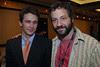 James Franco and Judd Apatow