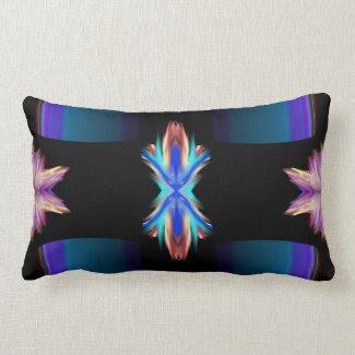 Look And Enter: Modern Art Throw Pillows