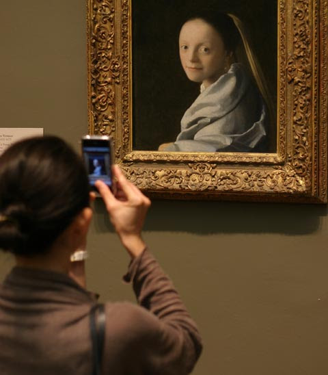 All Vermeer Paintings In Their Frames