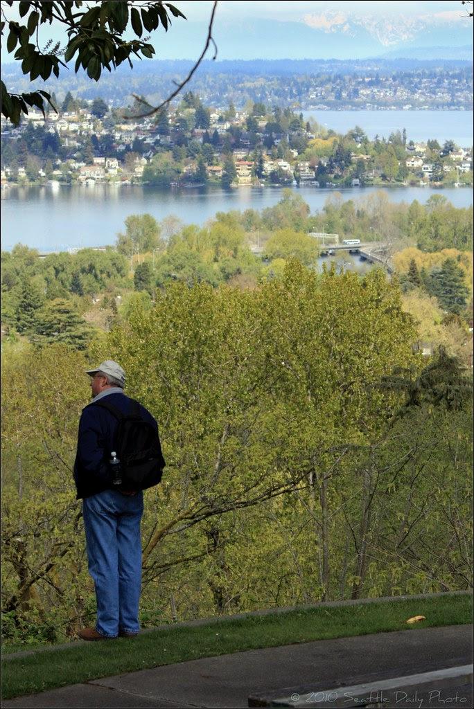 View of Laurelhurst and Montlake