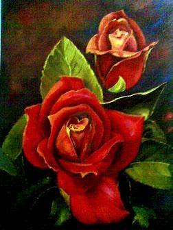 Contoh Gambar  Bunga  Gelap  Terang  Contoh O