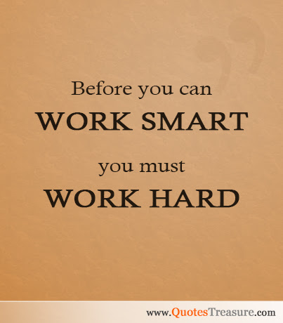 Quotes Work Smart Quotes