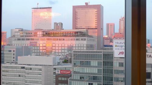 Shinjuku sunrise 1