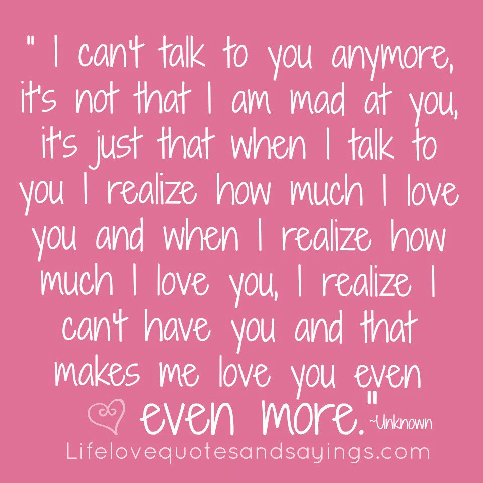 Quotes About Dont Love You Anymore 36 Quotes