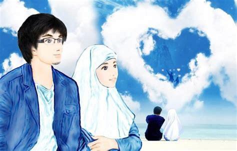 gambar  pacaran kartun muslim khazanah islam