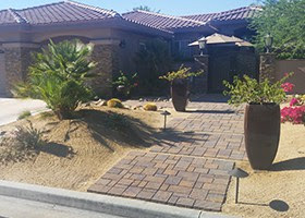 Landscaping In Indio Ca Desert Xeriscaping Water Wise Landscape