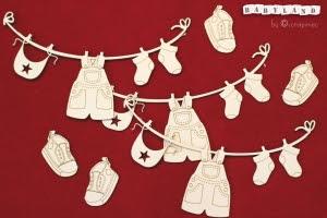 Babyland - Girlanda baby BOY laundry