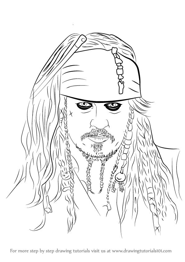 Disegni Da Colorare Jack Sparrow Coloradisegni