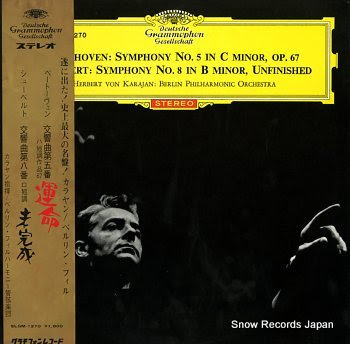 KARAJAN, HERBERT VON beethoven; symphony no.5 in c minor, op.67