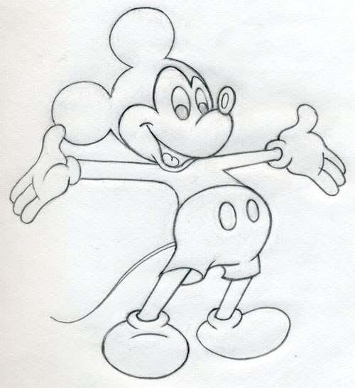 Anleitung Disney Figuren Zeichnen Einfach