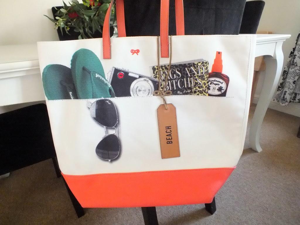 Anya Hindmarch Beach Bag