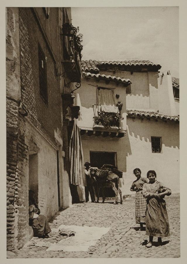 Calle del Sacramento hacia 1915. Fotografía de Kurt Hielscher.