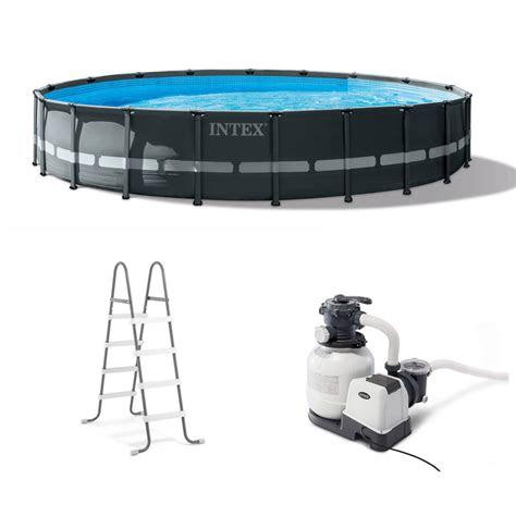intex  ft    ultra xtr frame  swimming pool