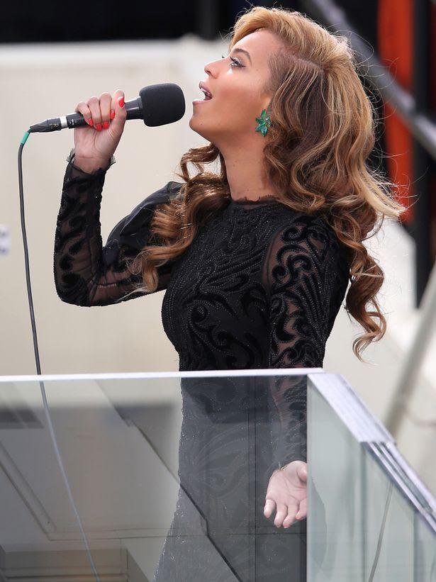 Presidential Inauguration 2013, Beyonce