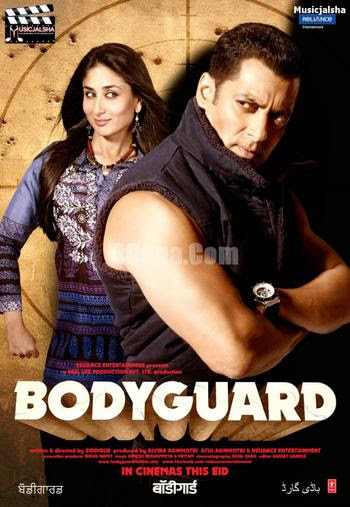 Bodyguard 2011 Hindi 480p BrRip 350MB, bollywood hindi movie Bodyguard 2011 Hindi 300mb brrip bluray 480P BrRip 400MB free dowload or watch online at world4ufree.be