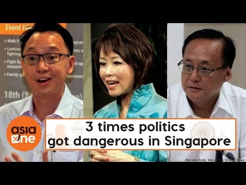 TLDR: 3 times politics got dangerous in Singapore