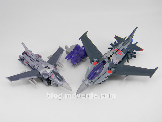 Transformers Starscream Voyager - Prime RID - modo alterno vs First Edition Deluxe