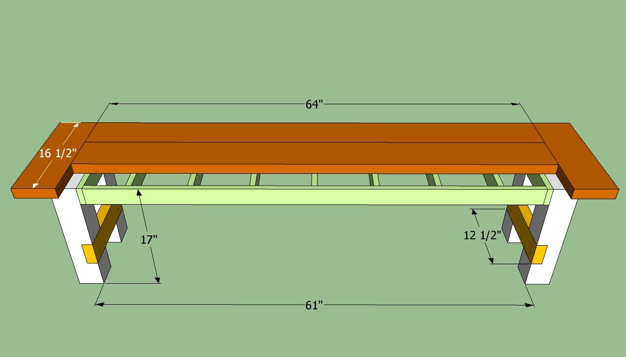 Do It Yourself Home Design: How To: Today Do It Yourself Rustic Wood Bench Plans