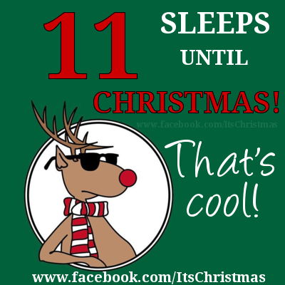 Image result for 11 sleeps till christmas
