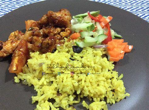 resepi nasi minyak mudah blog sihatimerahjambu