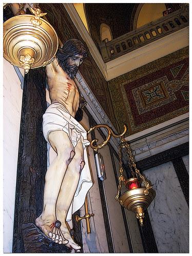 Crucificado en San Manuel y San Benito. Madrid