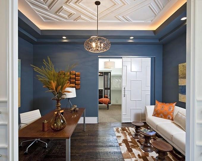 Cat Dinding Dapur Warna Biru | Ide Rumah Minimalis