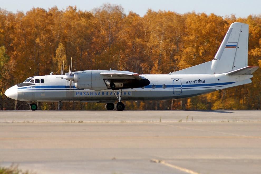 Пасажирський літак Ан-24
