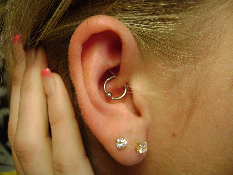 Daith Piercing Pain Healing Jewelry Cost Pictures Body