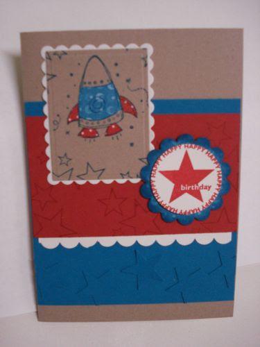 E's bday card