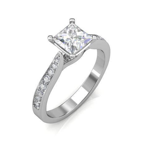 0.44 carat Platinum   Ayesha Engagement Ring   Engagement