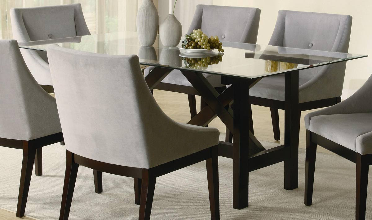 Rectangle Glass Top Dining Table - Decor IdeasDecor Ideas