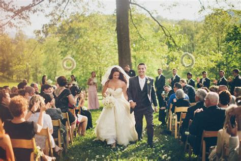 Outdoor Farm Wedding in Asheville, NC   Junebug Weddings