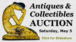 Antique & Collectibles Auction, Saturday, May 5, 2007