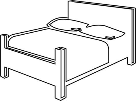 Bed Free vector in Open office drawing svg ( .svg ) vector