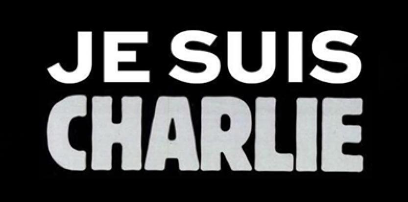 """Sur les réseaux sociaux, les internautes affichent le message """"Je suis Charlie"""" en soutien aux victimes de l'attentat contre """"Charlie Hebdo"""" (capture d'écran)."""
