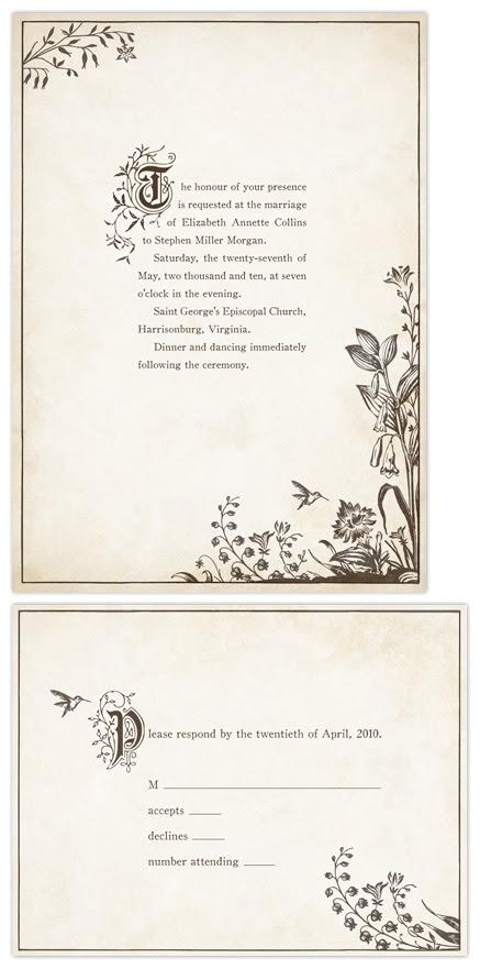 wedding invitations Storybook by Jody Wody