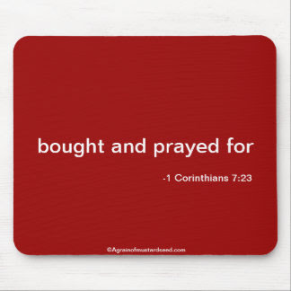 Christian Quote Mouse Mats, Christian Quote Mouse Pads